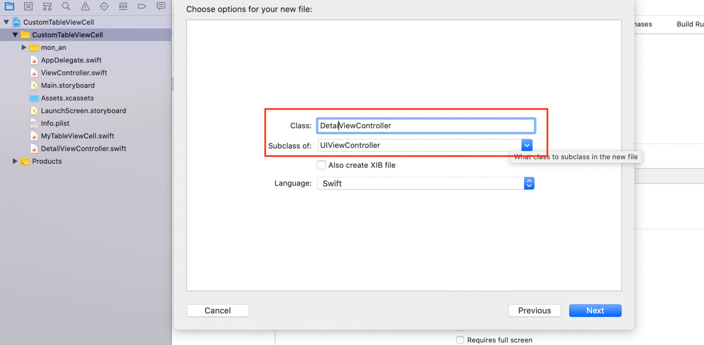 Thêm file quản lý detail view