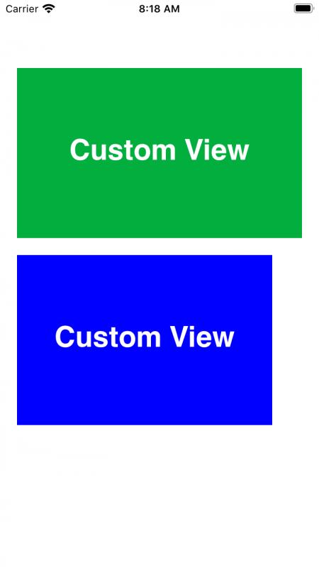 Tạo CustomView bằng code