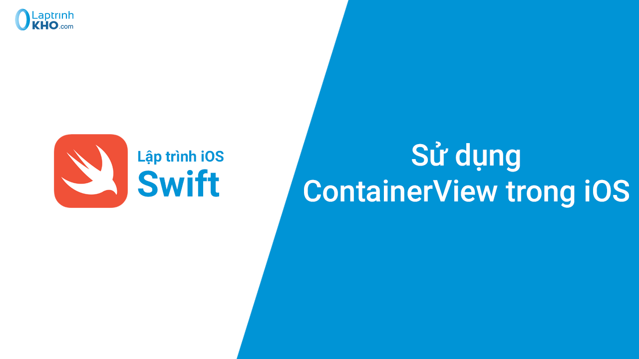 Sử dụng ContainerView trong iOS