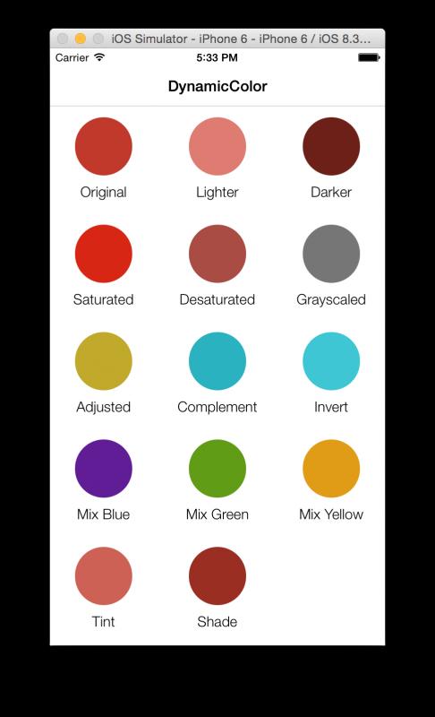 dynamic color